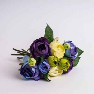 Букет рунункулюса фиолетово-сиреневый
