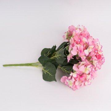 Букет  гортензии ярко-розовый