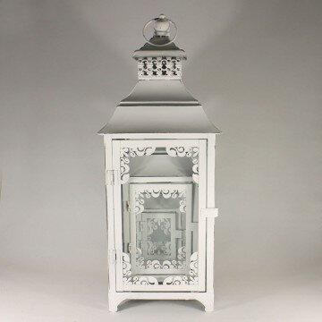 Набор фонарей металлических (белые) 25\36\52 см. 3 шт.