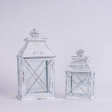Набор декоративных металлических фонарей хрестик (2шт)