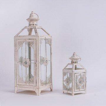 Набор декоративных фонарей с открытым верхом-2шт