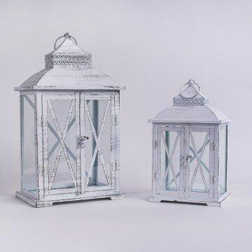 Набор декоративных металлических фонарей 2хреста(2шт)