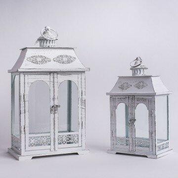 Набор декоративных металлических фонарей арка(2шт)