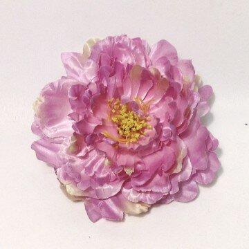 Головка пиона крупная сиренево-розовая