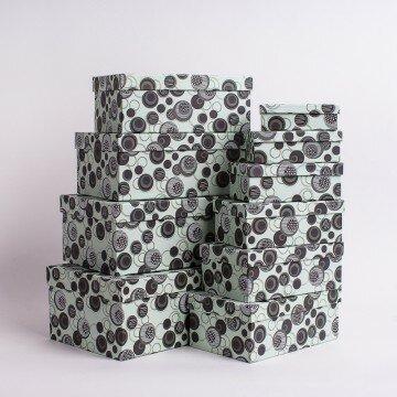 Набор коробок круги 10шт