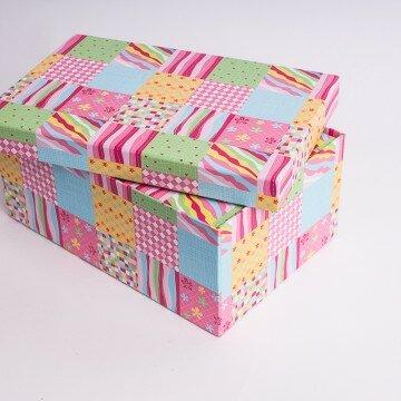 Набор коробок квадраты 10шт
