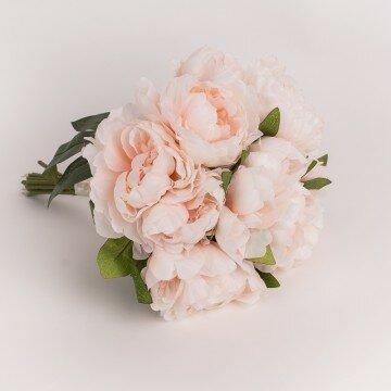 Букет пионов нежно-розовый