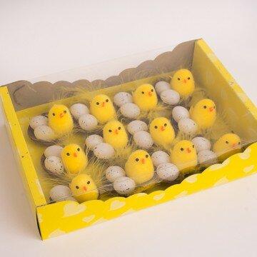 Цыплята в гнездышке- упаковка 12шт