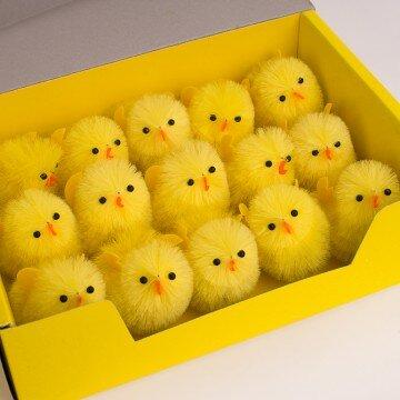 Цыплята средние- упаковка 15шт