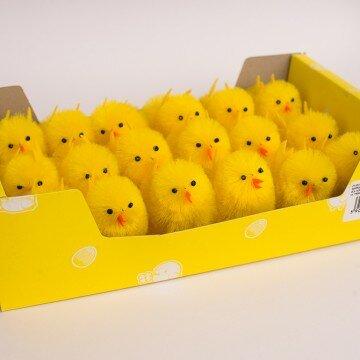 Цыплята средние- упаковка 18шт