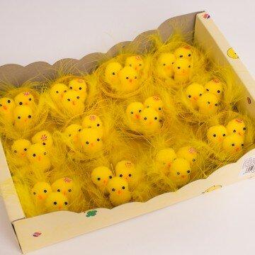 Цыплята в гнезде- упаковка 12шт