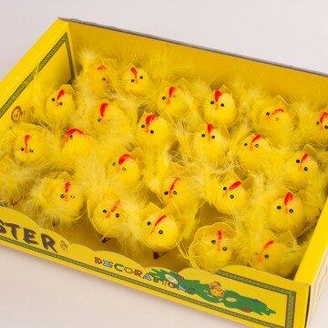 Цыплята маленькие в скорлупке- упаковка 24шт